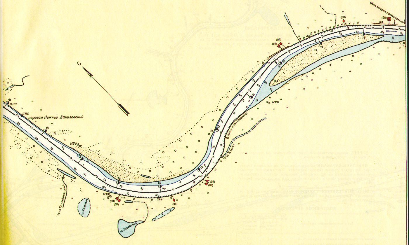 карта рыбака нижней волги